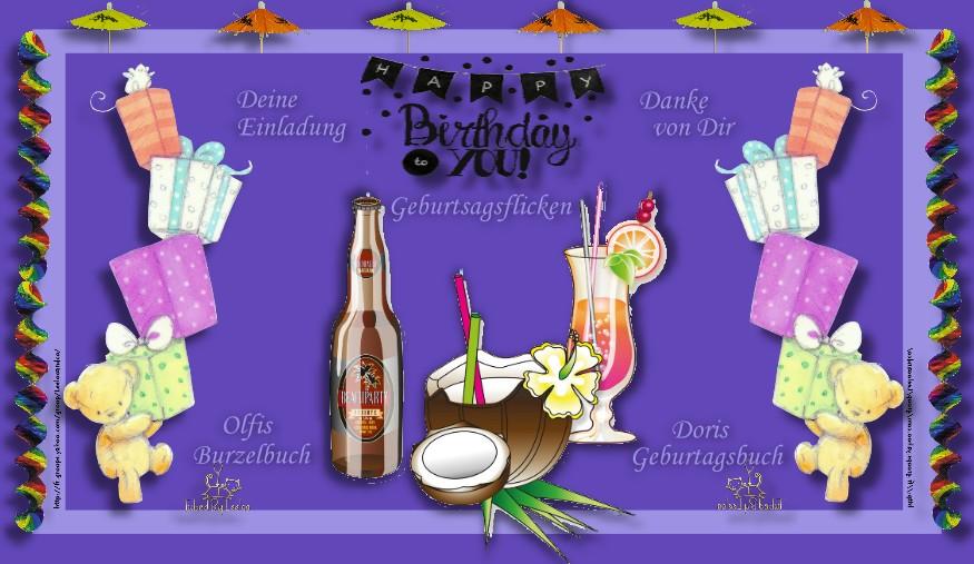 Gästebuch Banner - verlinkt mit http://olfis-web.bplaced.net/geburtstagskalender/kalender.html